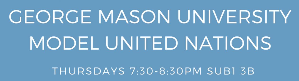 George Mason University Model United Nations